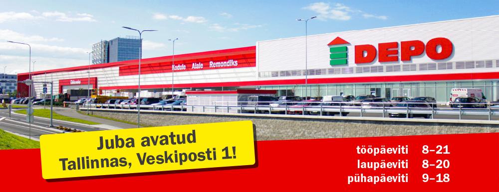 DEPO Tallinas juba avatud